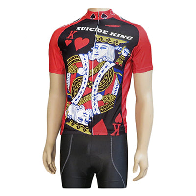 Clean motion Cycling Jersey Apparel LG Unisex Suicide King