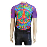 Clean motion Cycling Jersey Apparel LG Unisex Peace