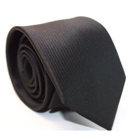 BLACK NECKTIE (6CM) - Elnukstyles | unique affordable men's Bow Ties, Knitted Neckties, Flower Lapel Pins, Pocket Squares, Tie Clips, Cufflinks, Brooch, Toronto