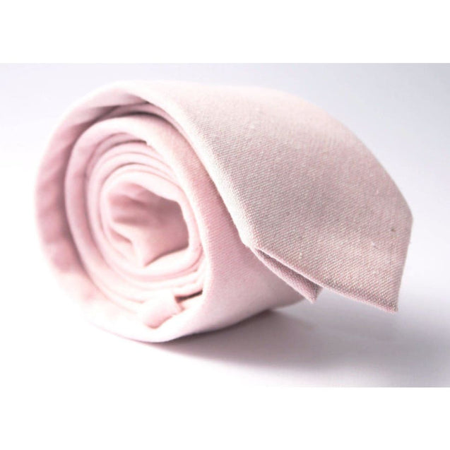 BLUSH PINK NECKTIE - Elnukstyles | unique affordable men's Bow Ties, Knitted Neckties, Flower Lapel Pins, Pocket Squares, Tie Clips, Cufflinks, Brooch, Toronto