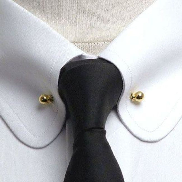 CLASSIC COLLAR PIN (2 COLOURS) - Elnukstyles | unique affordable men's Bow Ties, Knitted Neckties, Flower Lapel Pins, Pocket Squares, Tie Clips, Cufflinks, Brooch, Toronto