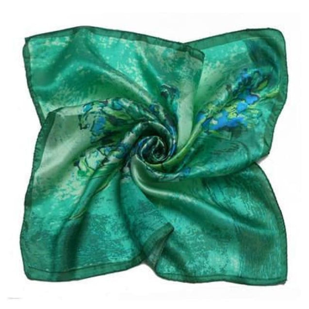 GREEN GRADIENT SILK POCKET SQUARES - Elnukstyles | unique affordable men's Bow Ties, Knitted Neckties, Flower Lapel Pins, Pocket Squares, Tie Clips, Cufflinks, Brooch, Toronto