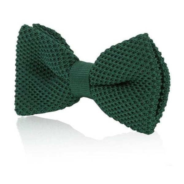 GREEN KNITTED BOW TIE - Elnukstyles | unique affordable men's Bow Ties, Knitted Neckties, Flower Lapel Pins, Pocket Squares, Tie Clips, Cufflinks, Brooch, Toronto