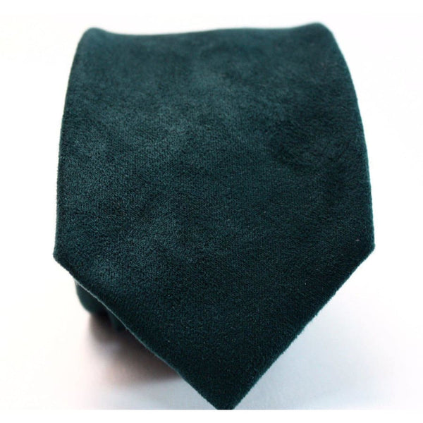 GREEN SUEDE NECKTIE - Elnukstyles | unique affordable men's Bow Ties, Knitted Neckties, Flower Lapel Pins, Pocket Squares, Tie Clips, Cufflinks, Brooch, Toronto
