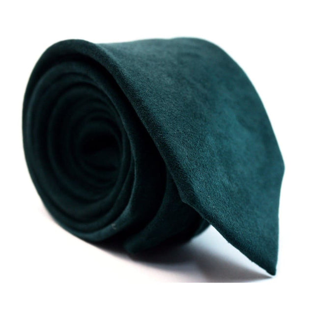 GREEN SUEDE TIE - Elnukstyles | unique affordable men's Bow Ties, Knitted Neckties, Flower Lapel Pins, Pocket Squares, Tie Clips, Cufflinks, Brooch, Toronto