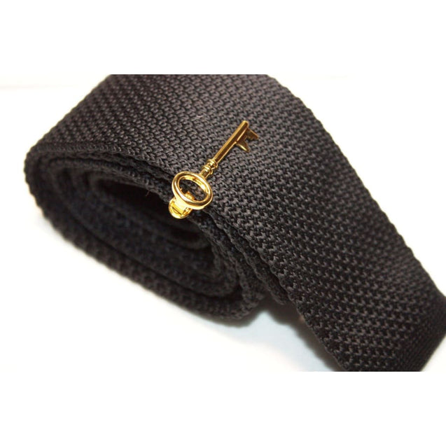 KEY TIE CLIP - Elnukstyles | unique affordable men's Bow Ties, Knitted Neckties, Flower Lapel Pins, Pocket Squares, Tie Clips, Cufflinks, Brooch, Toronto