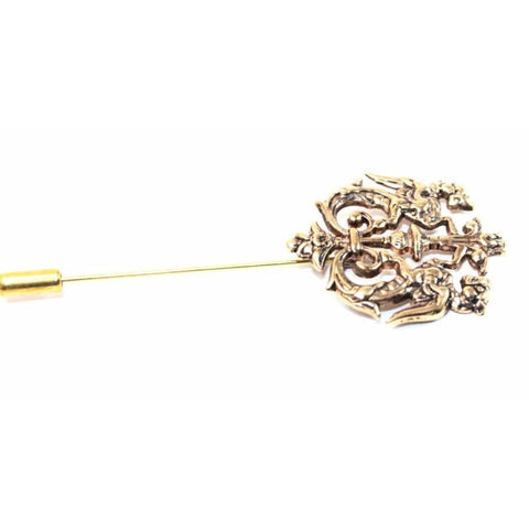 LION CREST LAPEL PIN - Elnukstyles | unique affordable men's Bow Ties, Knitted Neckties, Flower Lapel Pins, Pocket Squares, Tie Clips, Cufflinks, Brooch, Toronto