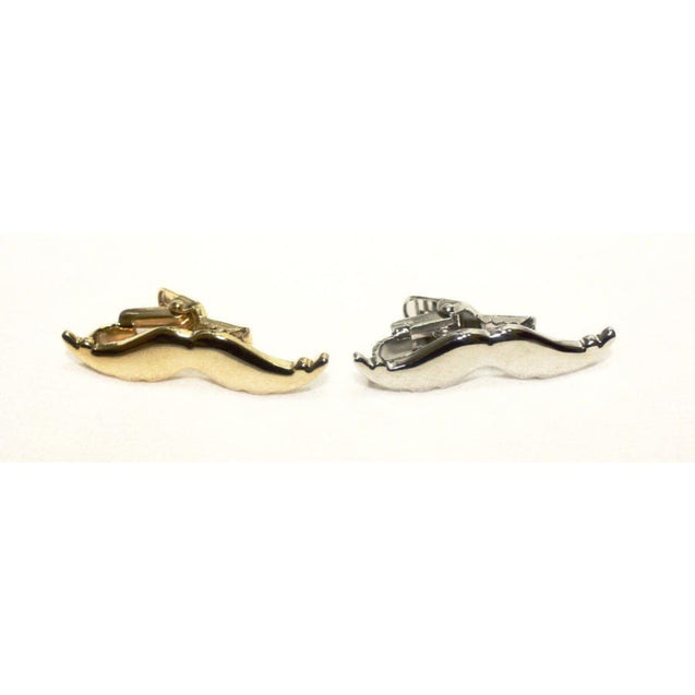 MUSTACHE TIE CLIP - Elnukstyles | unique affordable men's Bow Ties, Knitted Neckties, Flower Lapel Pins, Pocket Squares, Tie Clips, Cufflinks, Brooch, Toronto