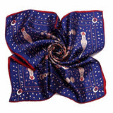 NAVY RED SILK POCKET SQUARES - Elnukstyles | unique affordable men's Bow Ties, Knitted Neckties, Flower Lapel Pins, Pocket Squares, Tie Clips, Cufflinks, Brooch, Toronto