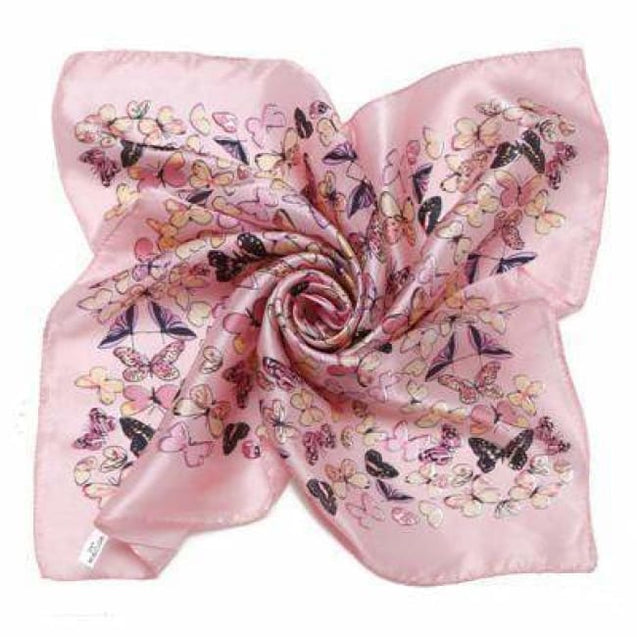 PINK BUTTERFLY SILK POCKET SQUARES - Elnukstyles | unique affordable men's Bow Ties, Knitted Neckties, Flower Lapel Pins, Pocket Squares, Tie Clips, Cufflinks, Brooch, Toronto