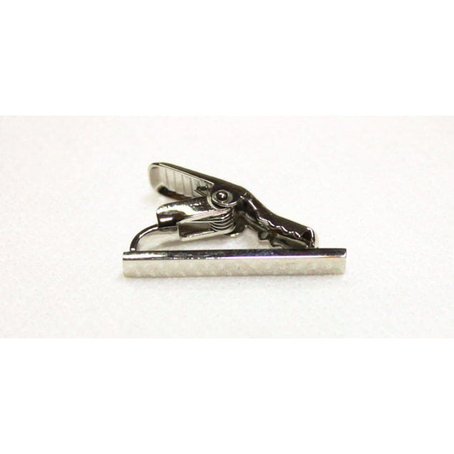 STRAIGHT TIE CLIP - (1 Inch) - Elnuk Styles Bows N Lapel