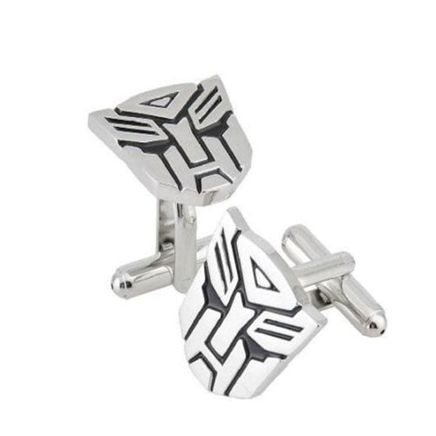 TRANSFORMER CUFFLINKS - Elnukstyles | unique affordable men's Bow Ties, Knitted Neckties, Flower Lapel Pins, Pocket Squares, Tie Clips, Cufflinks, Brooch, Toronto