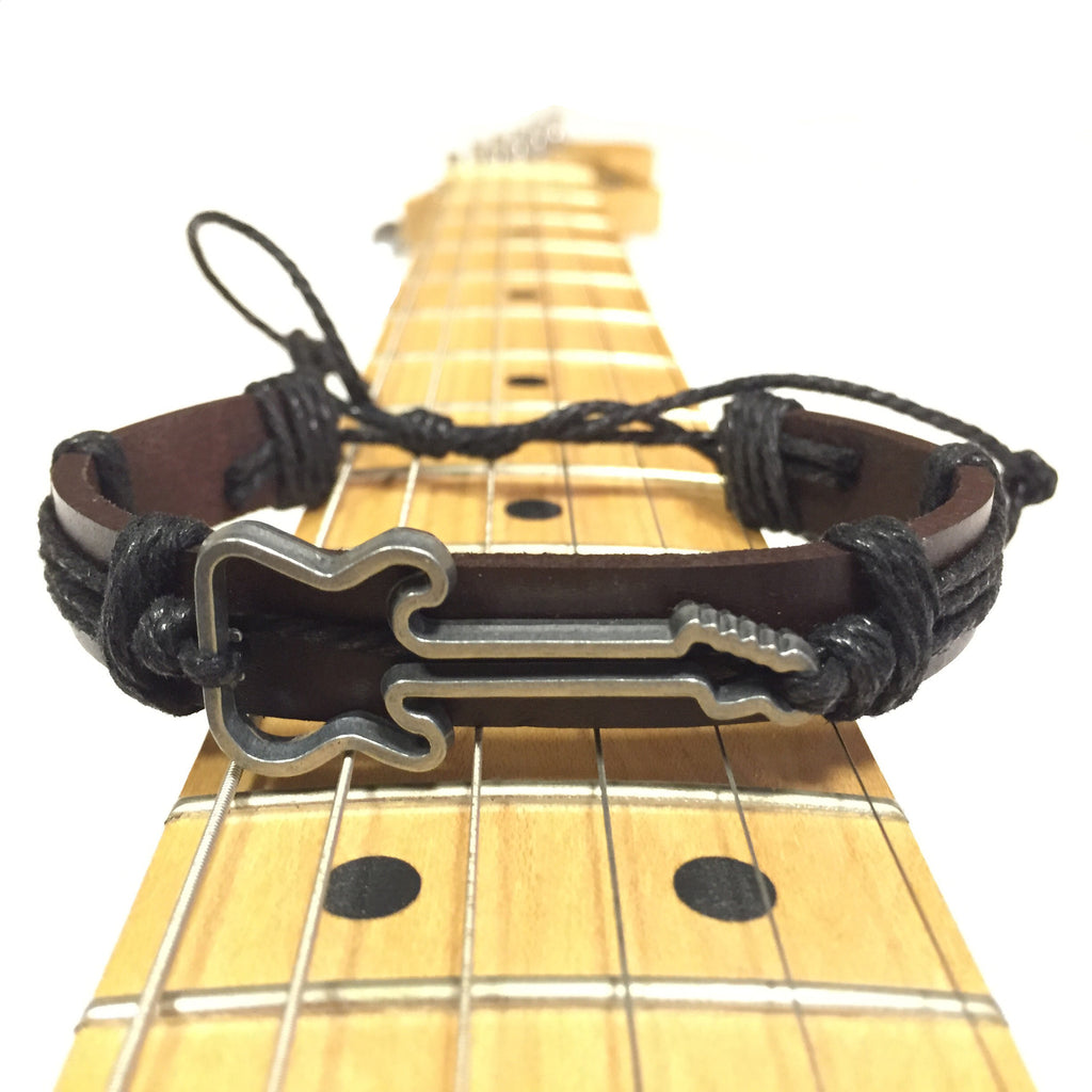 FREE!* Vintage Leather Guitar Wristband