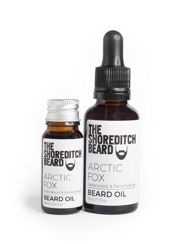 Arctic Fox Beard Oil - The Shoreditch Beard