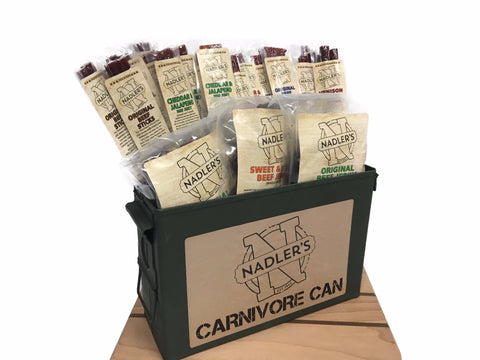 Nadler's Meats Carnivore Can (Jerky and Snack Stick Pack)