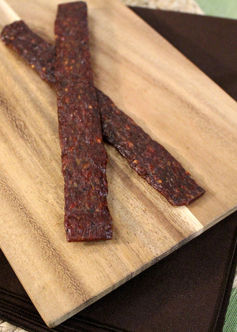 Nadler's Meats Cheddar and Jalapeno Beef Jerky Strips