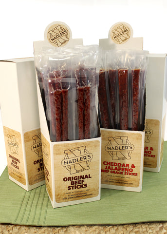 Nadler's Meats Beef Snack Stick Variety Pack