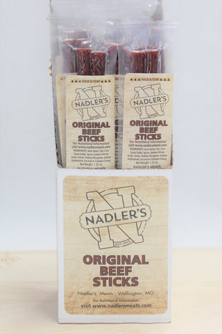 Nadler's Meats Original Beef Sticks