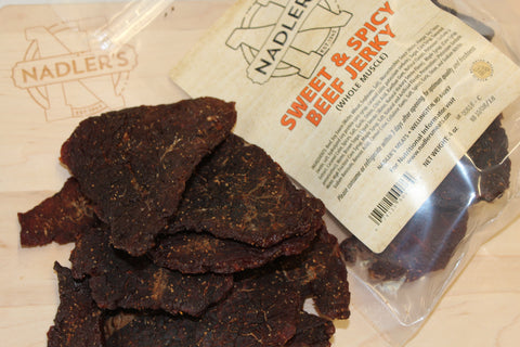 Nadler's Meats Sweet and Spicy Beef Jerky