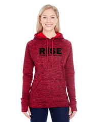 Ladies Fleece Pullover Hoodies
