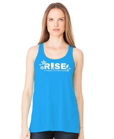 Ladies Seashell RISE Tank Loose Fit