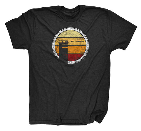 Sunrise Black T-Shirt