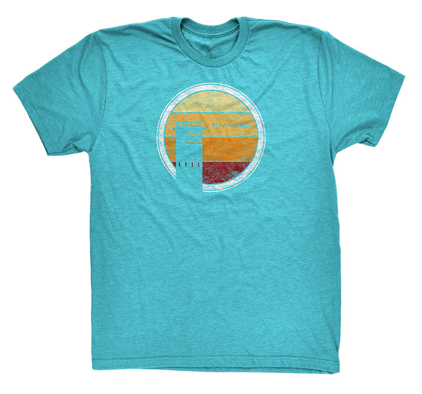 Sunrise Teal T-Shirt