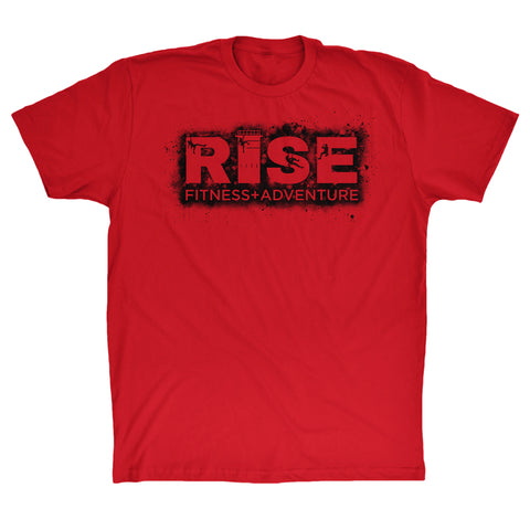 Red Climb at RISE T-Shirt