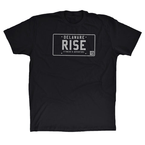RISE License Plate T-Shirt