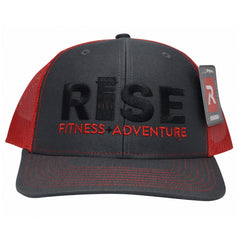 RISE Trucker Hat - Grey Face