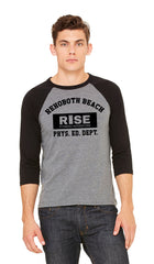 Three Quarter Sleeve Baseball RISE shirt
