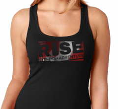 Ladies Rise Shattered Tank