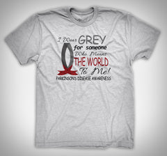 I Wear Grey for Parkinson's