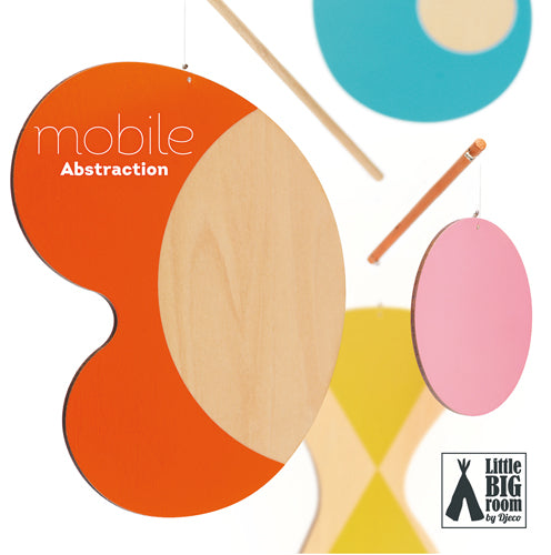 Mobile moderne abstraction - Djeco
