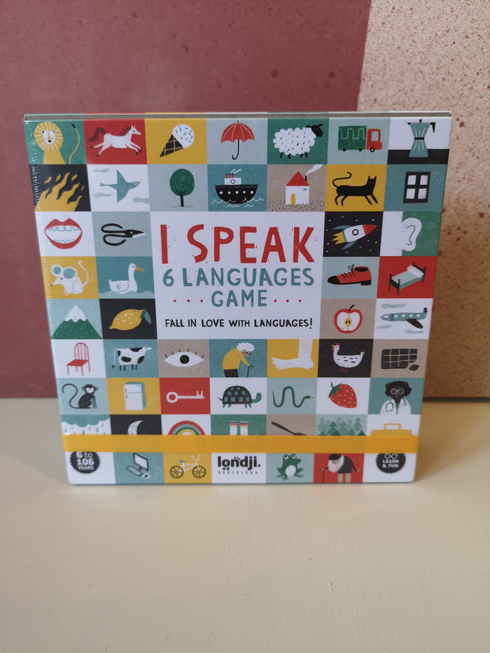 Jeu - I speak 6 languages - Londji