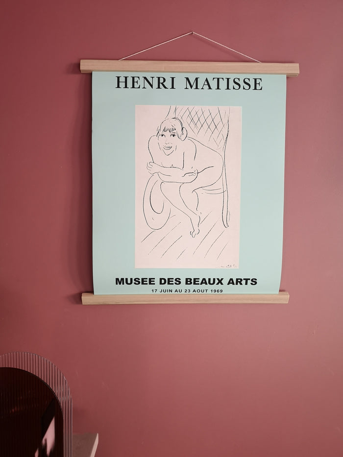 Illustration Matisse menthe - The Printable Concept