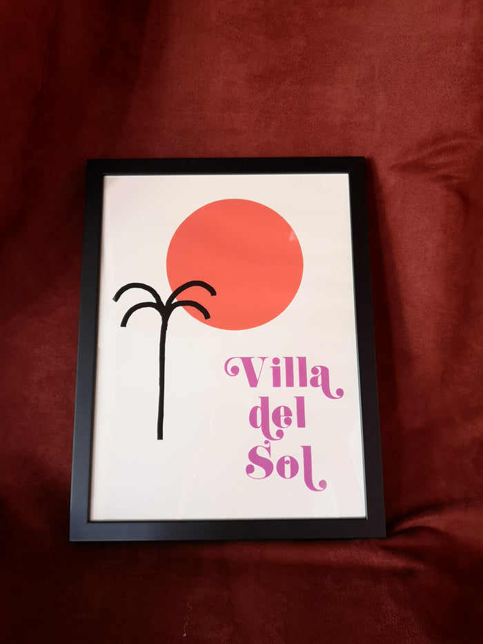 Illustration VILLA DEL SOL- The Printable Concept