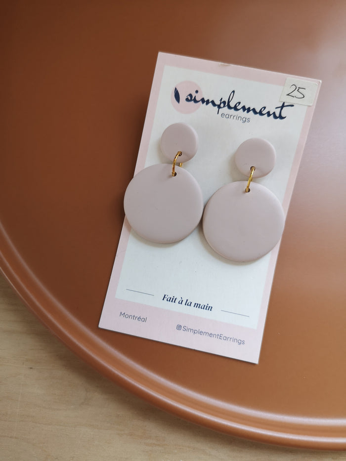 Boucles d'oreilles - Simplement earrings