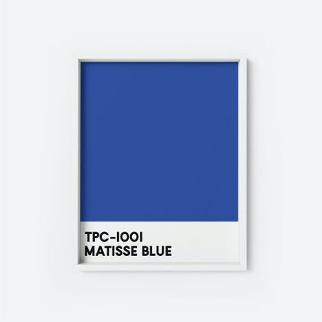 Illustration TPC Matisse Blue - The Printable Concept
