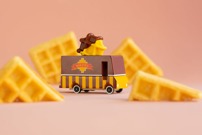 Candyvan Waffle Van Camion de Gaufre- Candy Lab