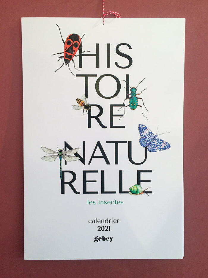 "Calendrier ""Histoire Naturelle"" - Gebey"