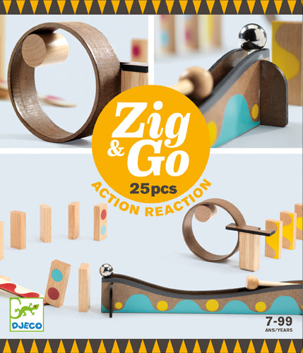 Zig & Go- Action réaction - Djeco