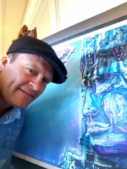 Podge Elvenstar Noted Hawaii Painter, Zen Painting