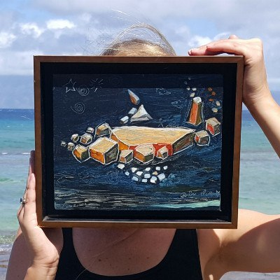 Cubist Fish - Celebrated Hawaii Art Paintings, Limited Edition Prints -