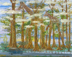 Wandering Eucalyptus Trees - Celebrated Hawaii Art Paintings, Limited Edition Prints -