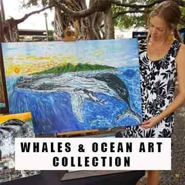 Where The Whales Go, Maui art, hawaii prints, hawaiian art