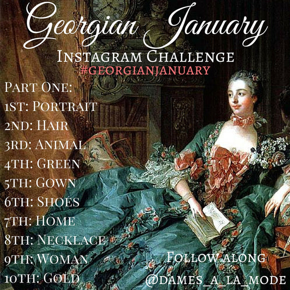 Georgian January: An Instagram Challenge