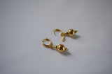 1790s Golden Ball Earrings