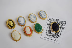 Cameo Lace Brooch
