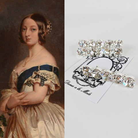 Queen Victoria's Diamond Bar Brooches